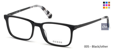 005 - Black/other Guess GU1963 Eyeglasses