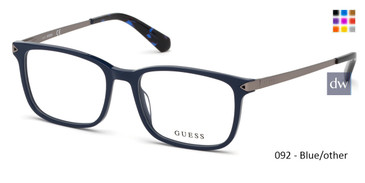 092 - Blue/other Guess GU1963-F Eyeglasses