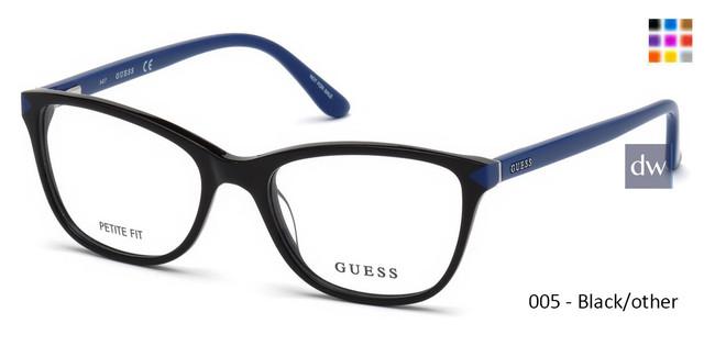 005 - Black/other Guess GU2673 Eyeglasses