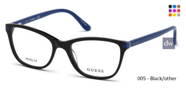 005 - Black/other Guess GU2673 Eyeglasses
