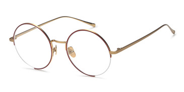 Red/Gold Capri AGOT 705 Eyeglasses.