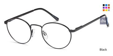 Black Capri PT 96 Eyeglasses Teenager.