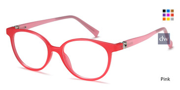 Pink Capri T 31 Eyeglasses Teenager.