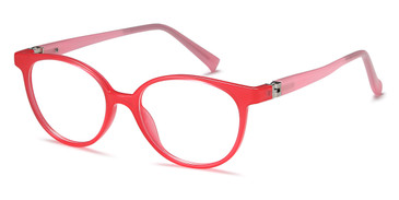 Pink Capri Trendy T31 Eyeglasses Teenager