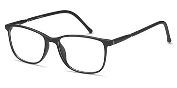 Black Capri Trendy T32 Eyeglasses Teenager.