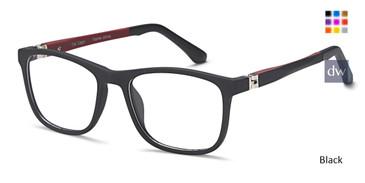 Black Capri T 34 Eyeglasses Teenager.