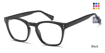 Black Capri U 210 Eyeglasses Teenager.