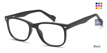 Black Capri US 88 Eyeglasses.