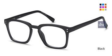 Black Capri US 90 Eyeglasses Teenager.