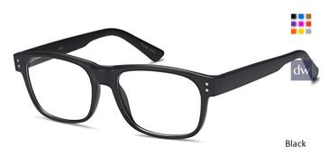 Black Capri US 91 Eyeglasses.