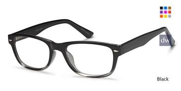 Black Capri US 93 Eyeglasses.