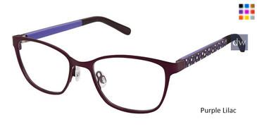 Purple Lilac Superflex Kids SFK-203 Eyeglasses.