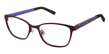 Purple Lilac Superflex Kids SFK-203 Eyeglasses.