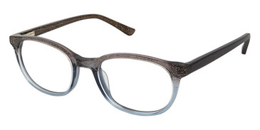 Grey Glitter Superflex Kids SFK-202 Eyeglasses.
