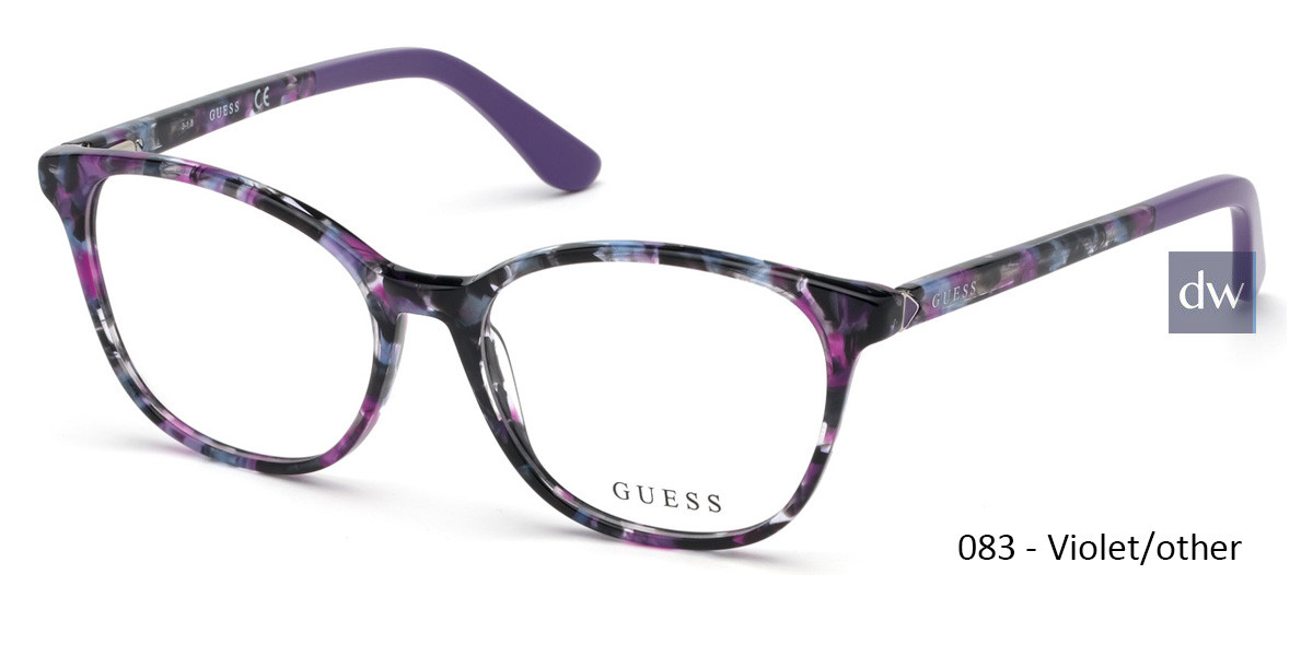 083 - Violet/other Guess GU2698 Eyeglasses