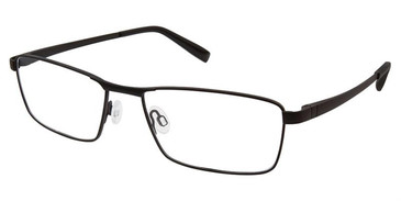 Matte Black Superflex SF-527 Eyeglasses.