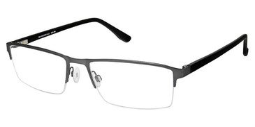 Grey Superflex SF-512 Eyeglasses.