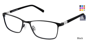 Black Superflex SF-500 Eyeglasses.