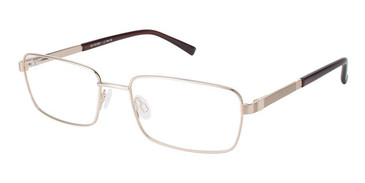 Gold Superflex SF-467 Eyeglasses.