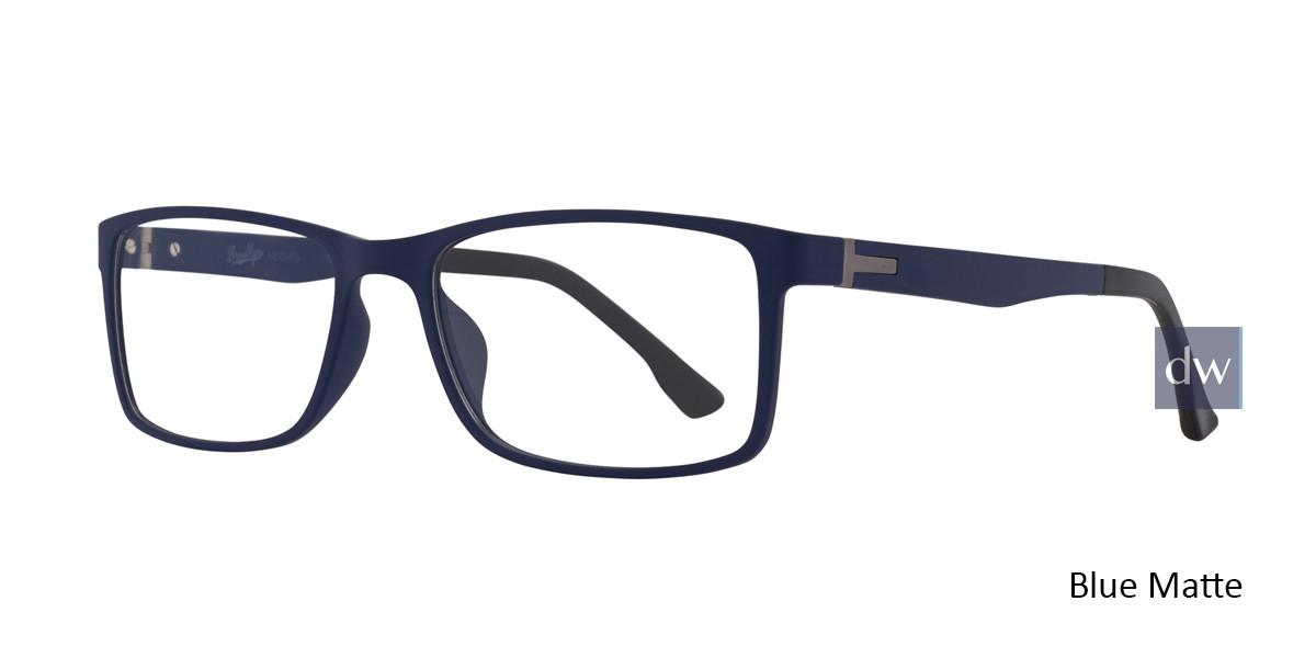 Bule Matte Brooklyn Jacob Eyeglasses.