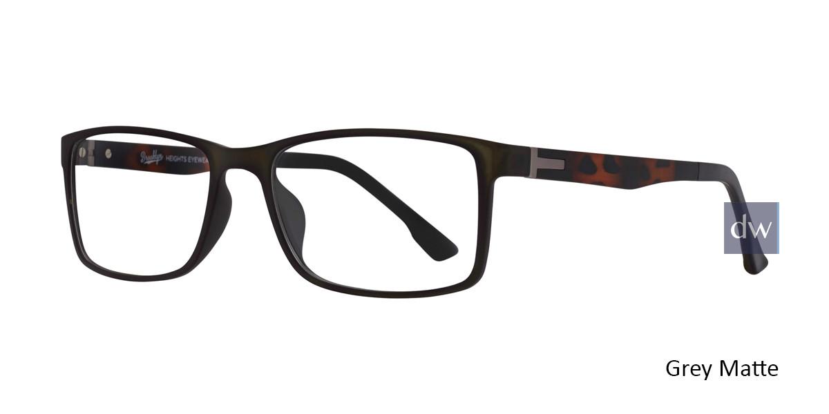 Grey Matte Brooklyn Jacob Eyeglasses.