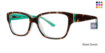 Demi Green Vivid Splash 68 Eyeglasses