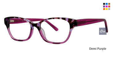 Demi Purple Vivid Splash 66 Eyeglasses