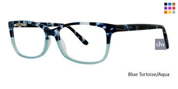 Blue Tortoise/Aqua Vivid Splash 64 Eyeglasses
