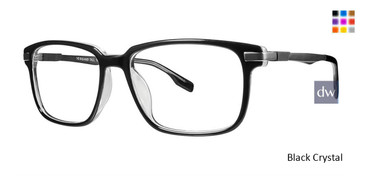 Black Crystal Vivid Big And Tall 18 Eyeglasses
