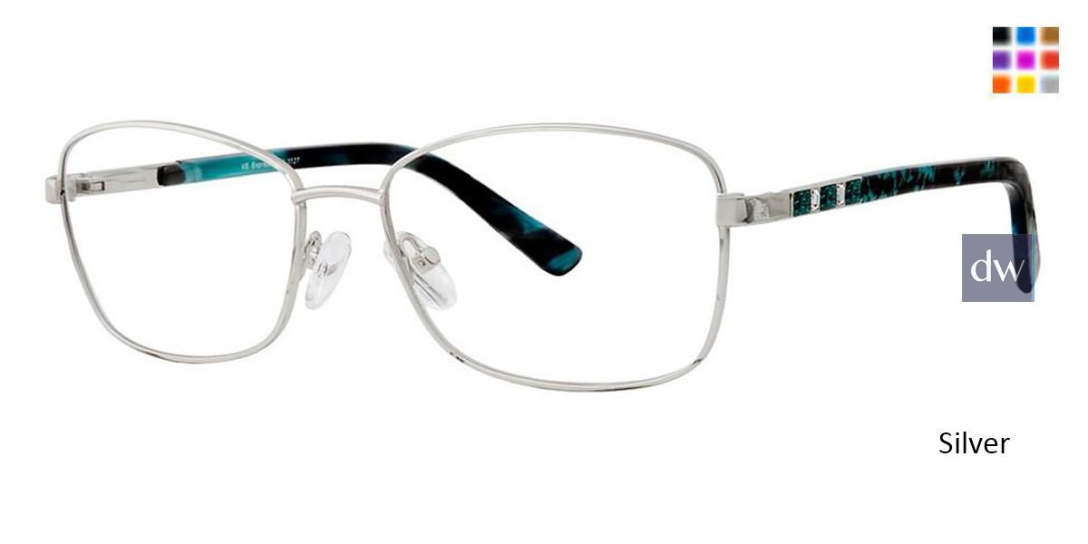 Silver Vivid Expressions 1127 Eyeglasses