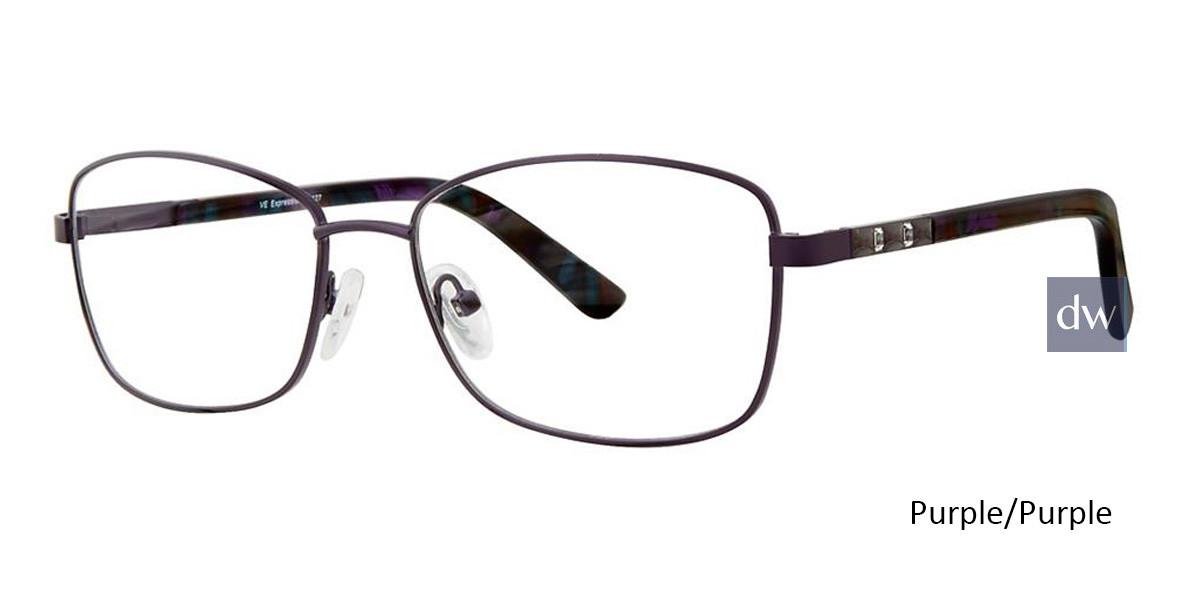 Purple/Purple Vivid Expressions 1127 Eyeglasses