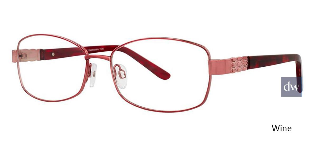 Wine Vivid Expressions 1124 Eyeglasses