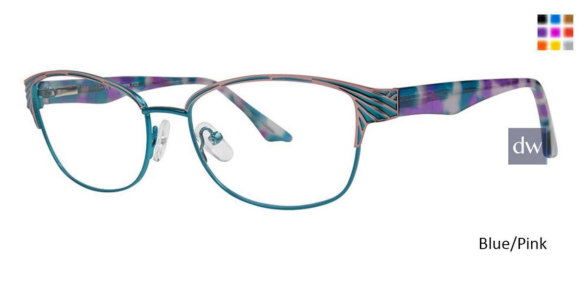 Blue/Pink Vivid Expressions 1123 Eyeglasses