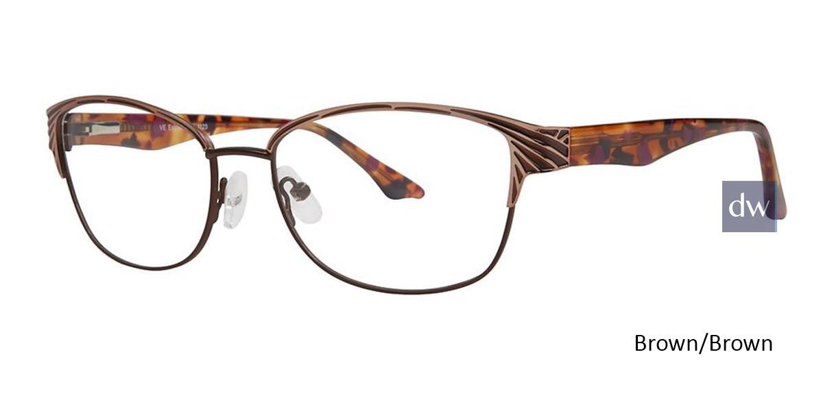 Brown/Brown Vivid Expressions 1123 Eyeglasses