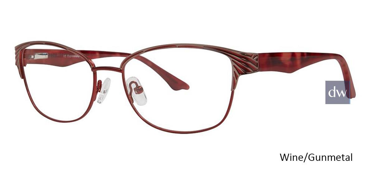 Wine/Gunmetal Vivid Expressions 1123 Eyeglasses