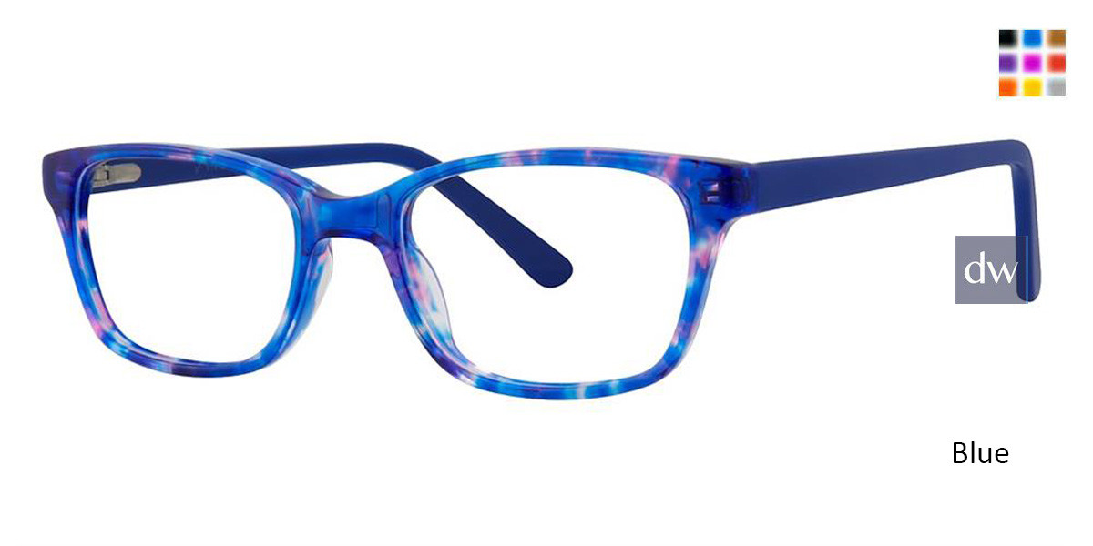 Blue Vivid Kids 155 Eyeglasses
