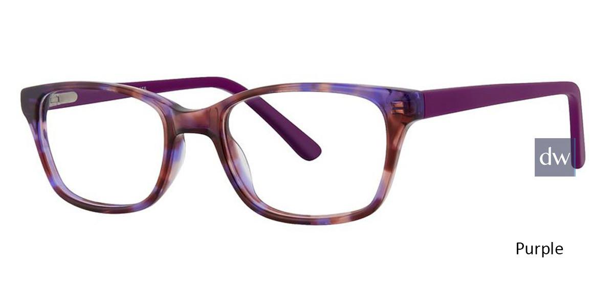 Purple Vivid Kids 155 Eyeglasses