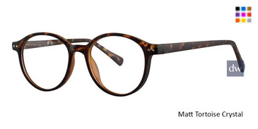 Matt Tortoise Crystal Vivid Soho 1025 Eyeglasses - Teenager