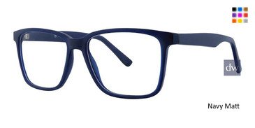 Navy Matt Vivid Soho 132 Eyeglasses