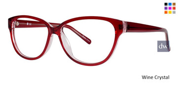 Wine Crystal Vivid Soho 126 Eyeglasses