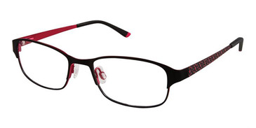Black Fuchsia Superflex Kids SFK-190 Eyeglasses.