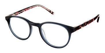 Black Pink Superflex Kids SFK-186 Eyeglasses.