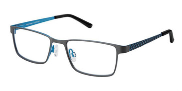 Grey Blue Superflex Kids SFK-185 Eyeglasses.