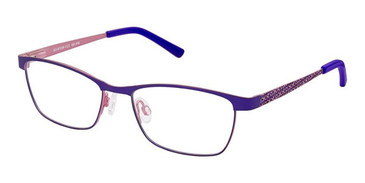Indigo Pink Superflex Kids SFK-183 Eyeglasses.