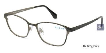 DK Grey/Grey C-Zone E1191 Eyeglasses.