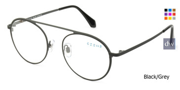 Black/Grey C-Zone E1193 Eyeglasses.