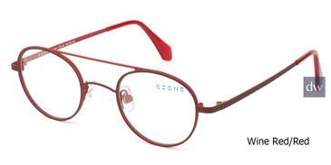 Wine Red/Red C-Zone E1194 Eyeglasses.