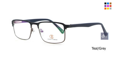 Teal/Grey CIE SEC128 Eyeglasses.