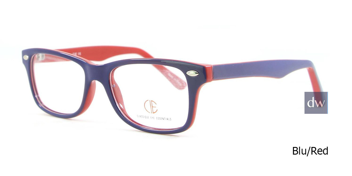 Blu/Red CIE SEC500 Eyeglasses - Teenager