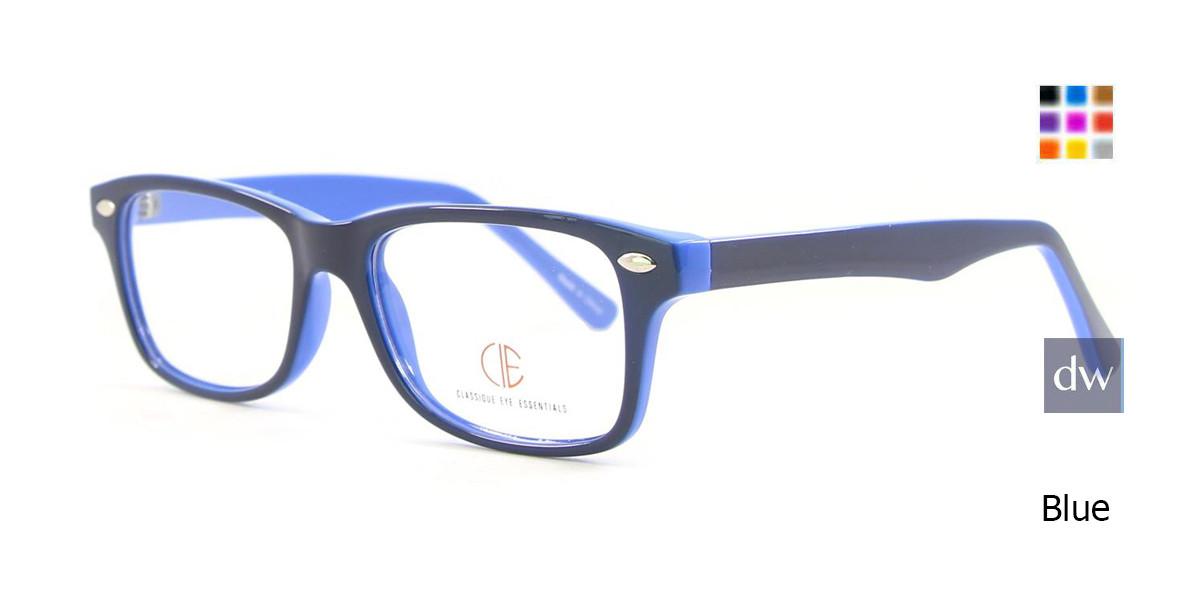 Blue CIE SEC500 Eyeglasses - Teenager
